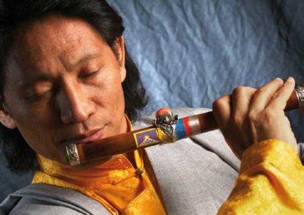 Tibetan musician Nawang Khechog