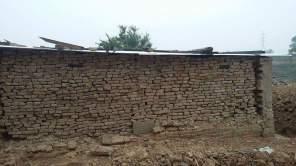 back side of house